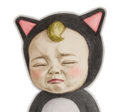 """闭上眼睛 - """"Let's go Sandyuki"""" 系列表情 ,妹子适用"""